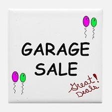 Garage Sale Tile Coaster