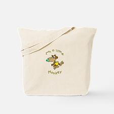 I'm a Little Monkey Tote Bag