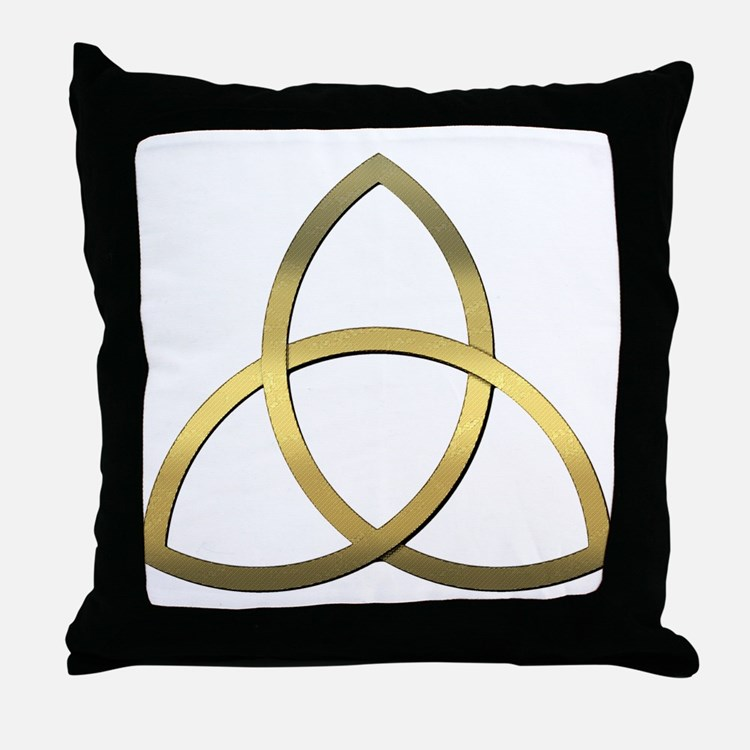 Trinity Throw Pillow