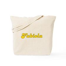 Retro Fabiola (Gold) Tote Bag