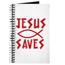 Jesus Saves! Journal