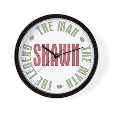 Shawn Man Myth Legend Wall Clock
