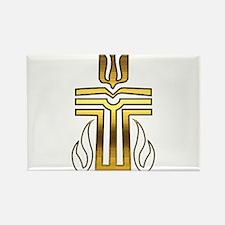Presbyterian Cross Rectangle Magnet (10 pack)