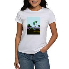 La Jolla Cove Palms Tee