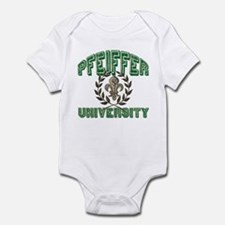 Pfeiffer Family Name University Infant Bodysuit