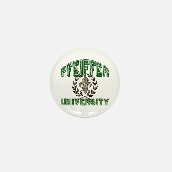 Pfeiffer Family Name University Mini Button