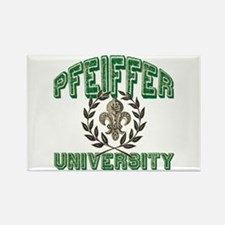 Pfeiffer Family Name University Rectangle Magnet