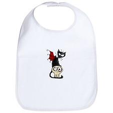 Voodoodle - Fang Kitty Bib