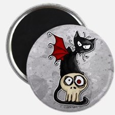 Voodoodle - Fang Kitty Magnet
