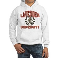 Lavender Family Name University Hoodie