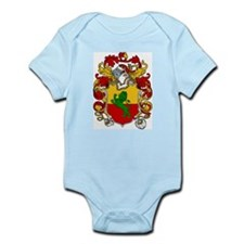 Wharton Family Crest Infant Creeper