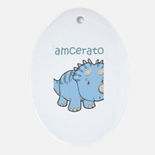 Liamceratops Oval Ornament