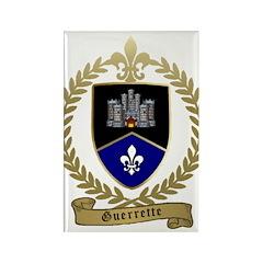 GUERRETTE Family Crest Rectangle Magnet (10 pack)