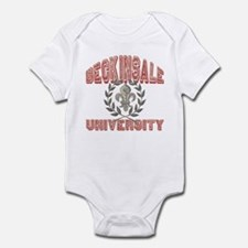 Beckinsale Last Name University Infant Bodysuit