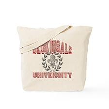Beckinsale Last Name University Tote Bag
