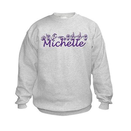 Michelle-ppl Kids Sweatshirt
