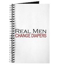 Real Men Change Diapers Journal