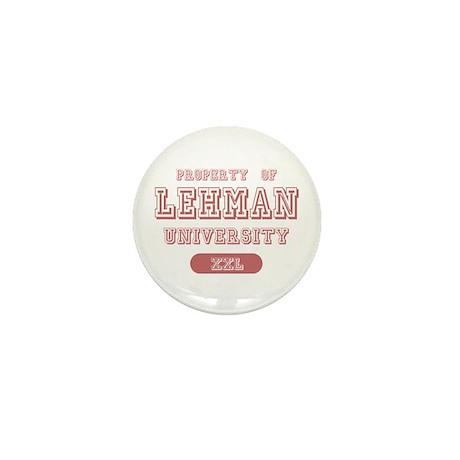 Property of Lehman University Name Mini Button