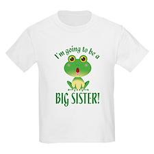 Big Sister Frog T-Shirt