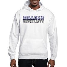 Hillman Family Name University Hoodie
