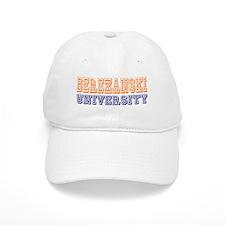 Berezanski Last Name University Baseball Cap