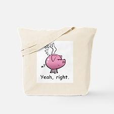 Skuzzo Flying Pig Tote Bag