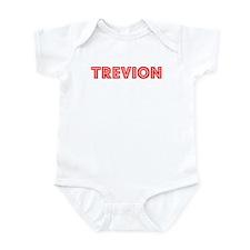 Retro Trevion (Red) Infant Bodysuit