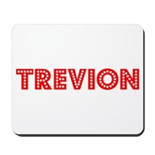 Retro Trevion (Red) Mousepad