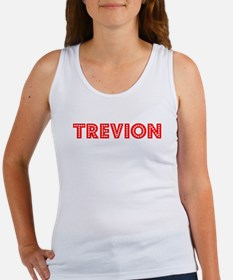 Retro Trevion (Red) Women's Tank Top