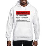 Homosexual Warning Hooded Sweatshirt