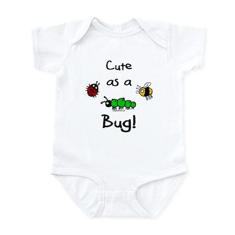 Cute as a bug baby Infant Bodysuit