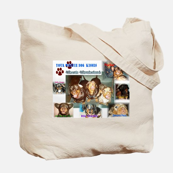 Weenie Dog  Tote Bag