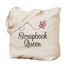 Scrapbook Queen Tote Bag