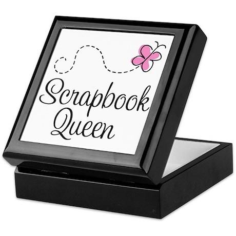Scrapbook Queen Keepsake Box