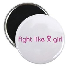 "Fight Like a Girl 2.25"" Magnet (10 pack)"