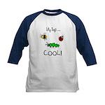 icky bugs ...COOL Kids Baseball Jersey