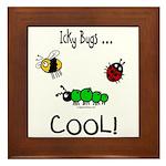 icky bugs ...COOL Framed Tile