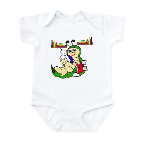 Laid back Bookworm Infant Bodysuit