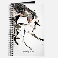 """Working on it"" Mare and Newborn foal Journal"