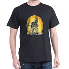 Zebra Sunset T-Shirt