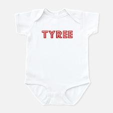 Retro Tyree (Red) Infant Bodysuit