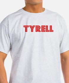 Retro Tyrell (Red) T-Shirt