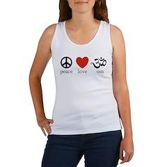 Peace Love Om Women's Tank Top