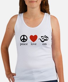 Peace Love Om Women's Tank Top