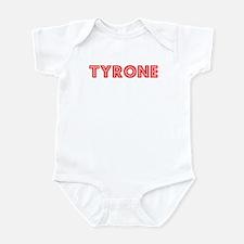 Retro Tyrone (Red) Onesie