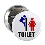 "Toilet Peek 2.25"" Button (10 pack)"