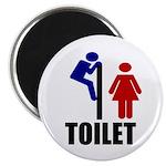 """Toilet Peek 2.25"""" Magnet (10 pack)"""