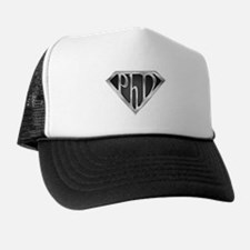 Super PhD - metal Trucker Hat