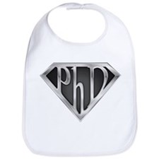 Super PhD - metal Bib
