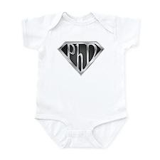 Super PhD - metal Infant Bodysuit